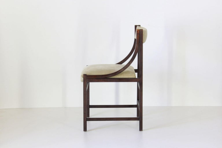 Italian 1950s Vintage Dining Chairs For Sale