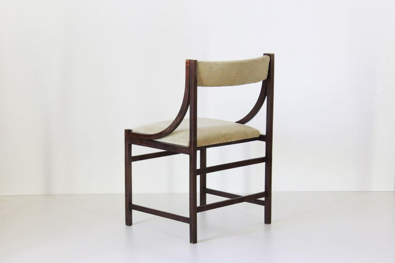 1950s Vintage Dining Chairs In Good Condition For Sale In Ceglie Messapica, IT