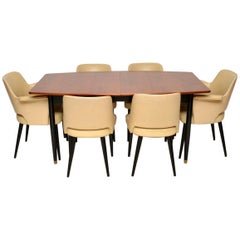 1950s Vintage Dining Table and Chairs by Robin Day for Hille