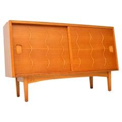 1950s Vintage Elm and Walnut Sideboard