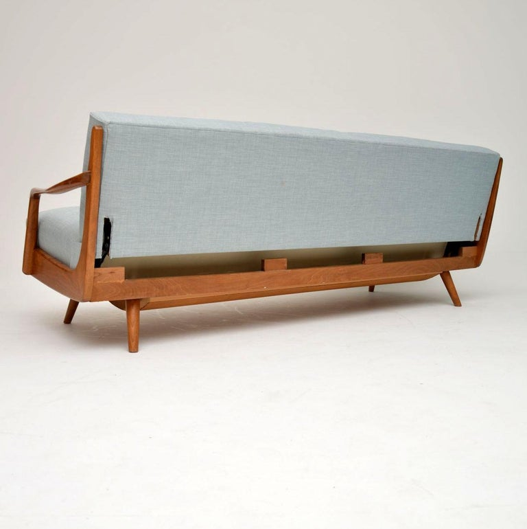 1950s Vintage French Sofa Bed For Sale 4