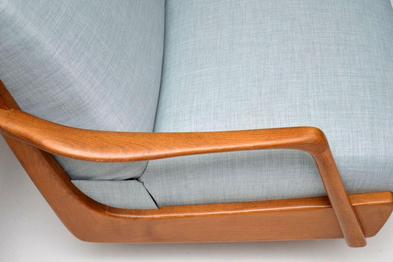 Mid-Century Modern 1950s Vintage French Sofa Bed For Sale