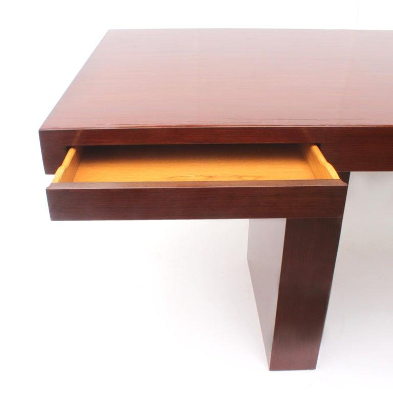 Mid-20th Century 1950s Vintage Mid-Century Modern Executive Desk by Edward Wormley for Dunbar For Sale