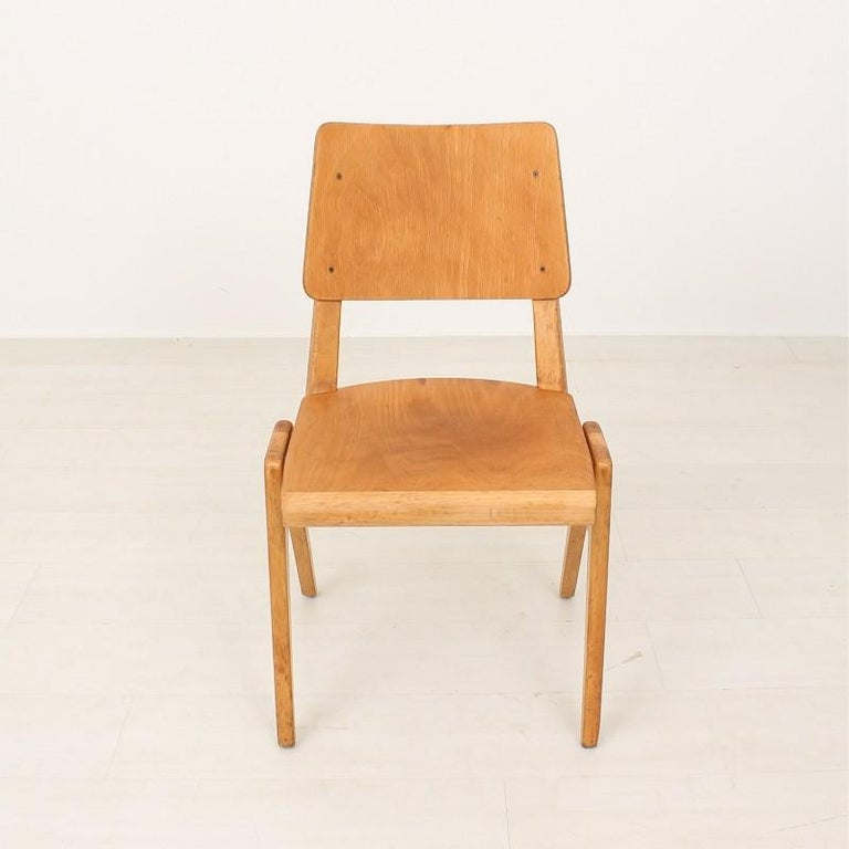 Very comfortable stacking chairs.