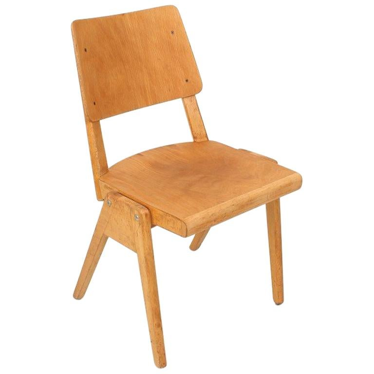 1950s Vintage Stacking Chair For Sale