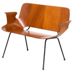 1950s Vittorio Nobili 'Medea' Midcentury Sofa for Tagliabue Italy