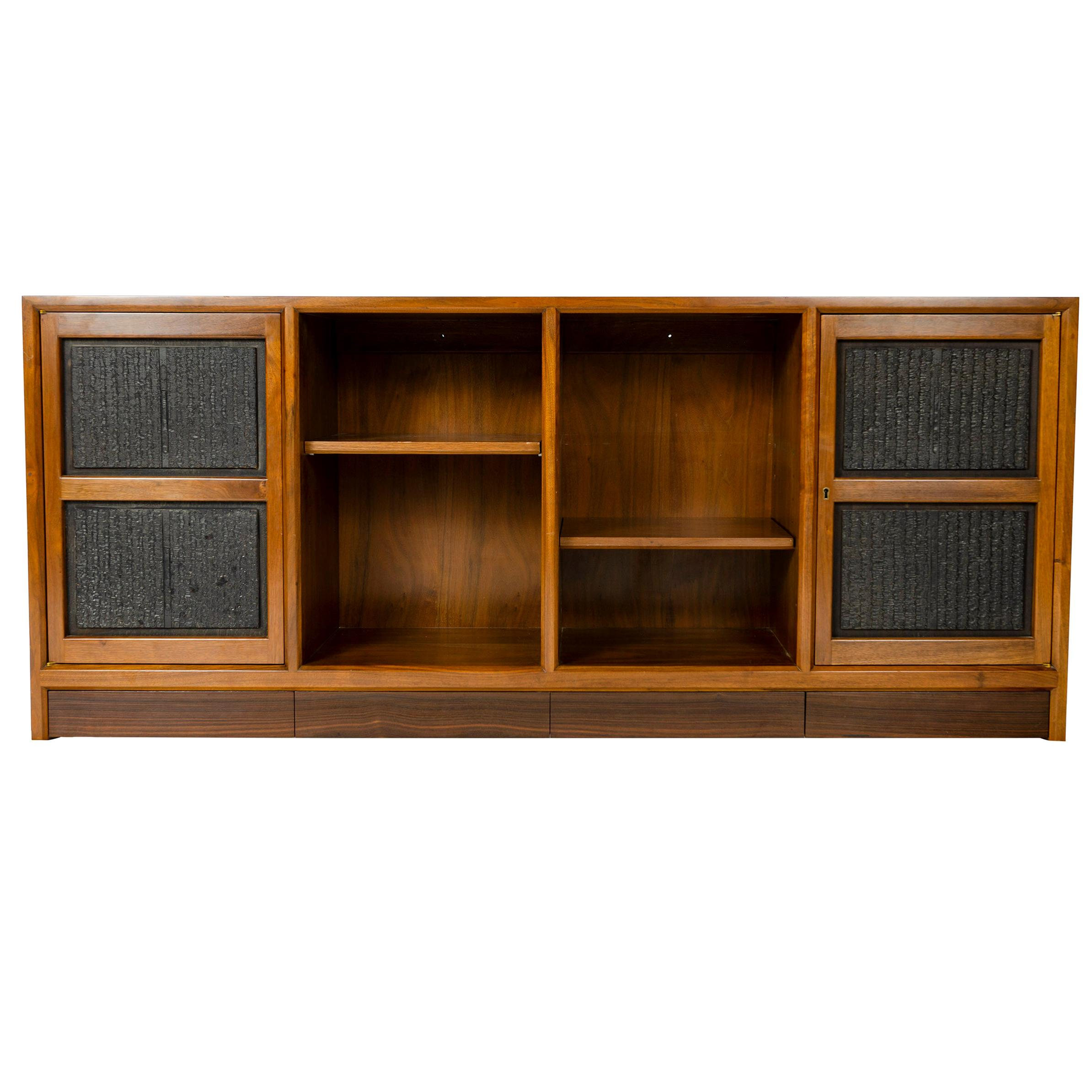 1950s Wall Mounted Cabinet by Edward Wormley for Dunbar