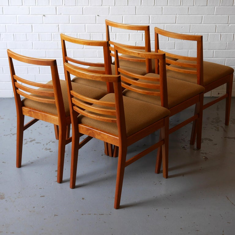 beech dining room furniture | 1950s Walnut and Beech Dining Set by Vesper Furniture For ...