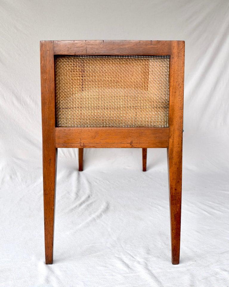 1950s Walnut Window Bench Attributed to Edward Wormley for Dunbar 9