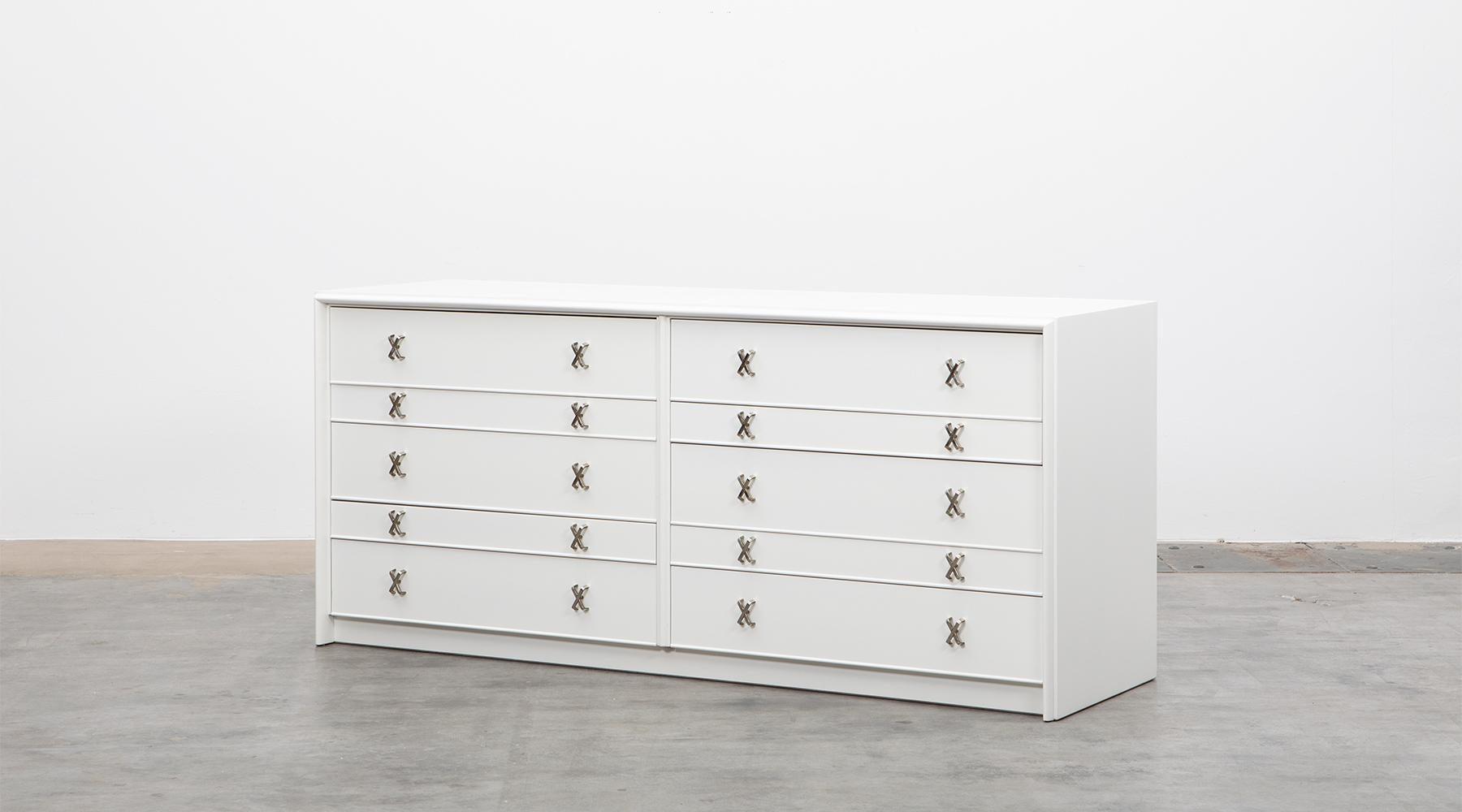 1950s White Birch Sideboard By Paul Frankl U0027Cu0027