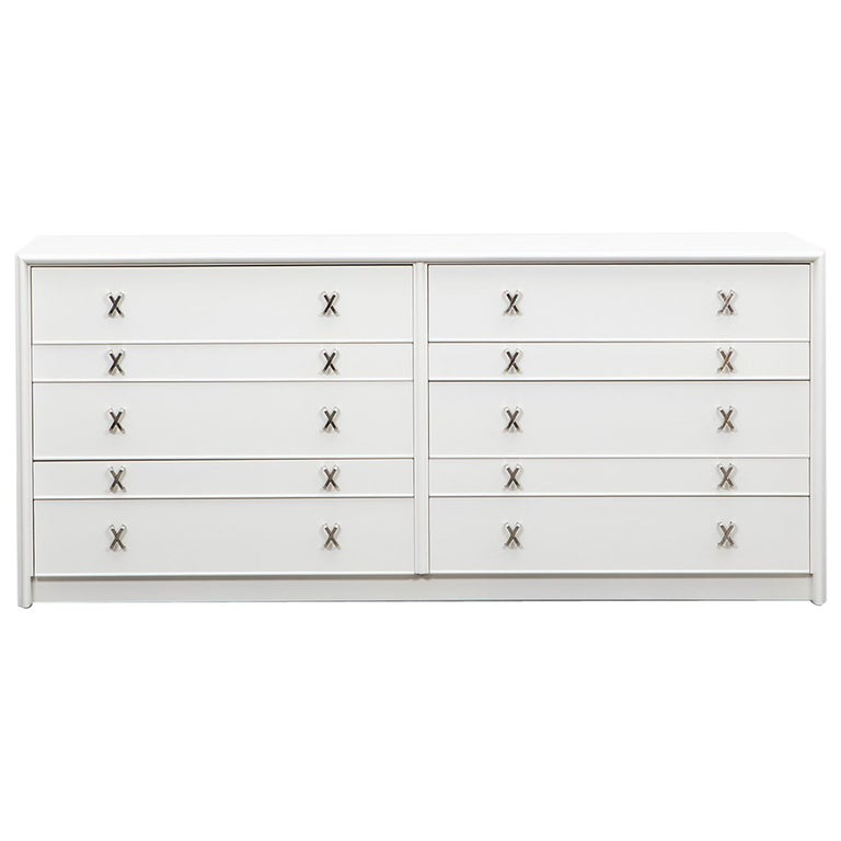 1950s White Birch Sideboard by Paul Frankl 'C' For Sale
