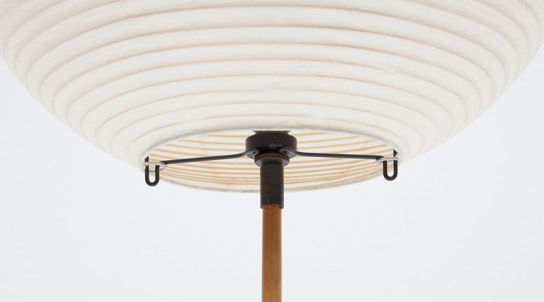 American 1950s White Sculptural Table Lamp by Isamu Noguchi For Sale