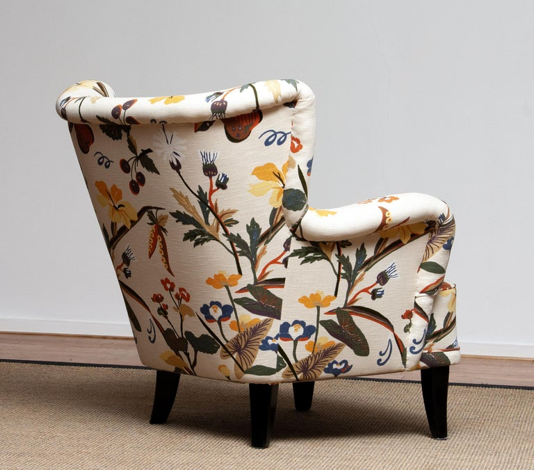 1950s Wingback Lounge Club Chair Model