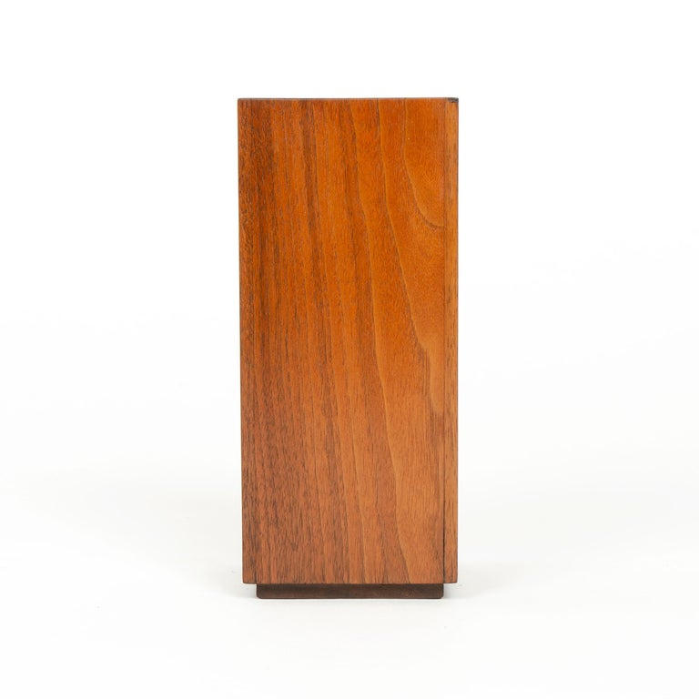 Mid-Century Modern 1950s Wood Planter or Vase by James Prestini For Sale