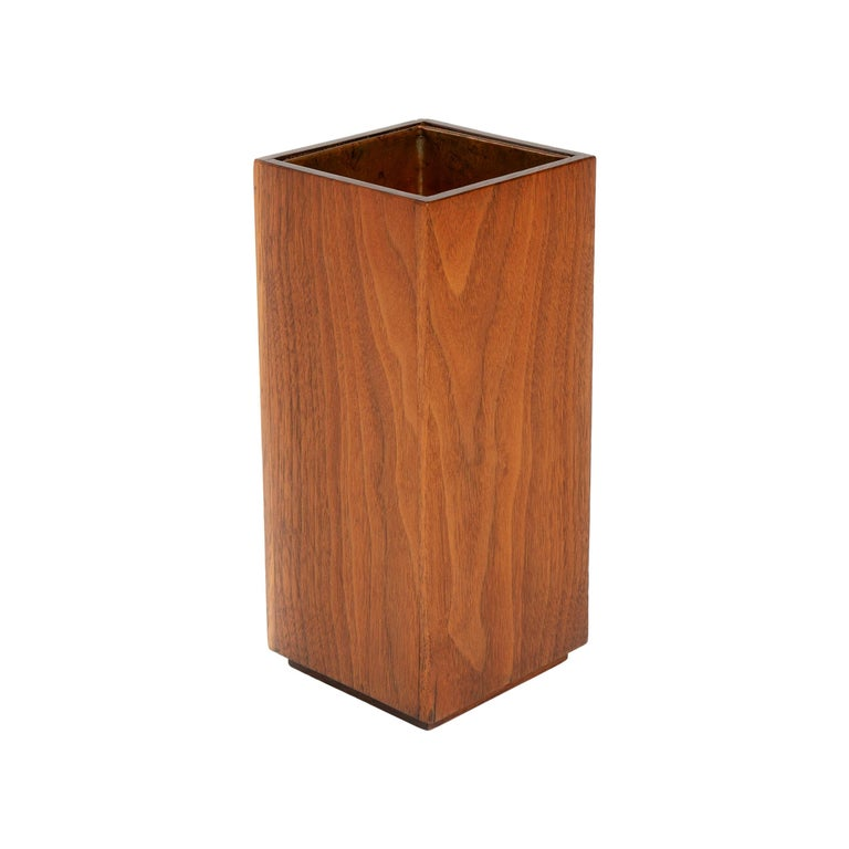 1950s Wood Planter or Vase by James Prestini For Sale