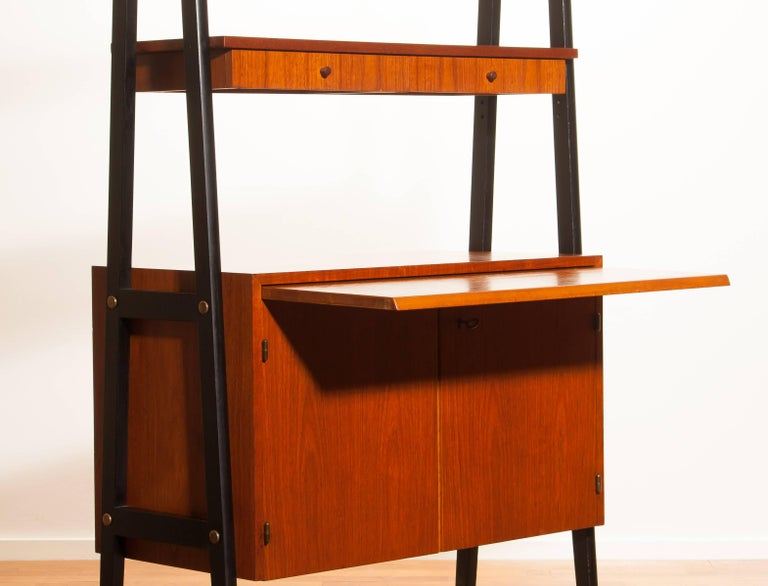 1950s, Teak Room Divider or Cabinet, Sweden 3