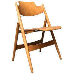 1952, Egon Eiermann for Wilde & Spieth, Wooden Folding Chair