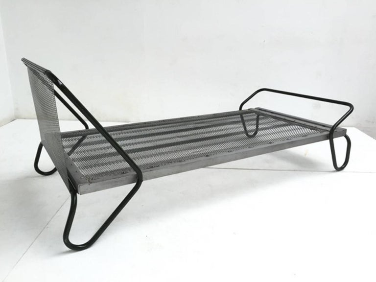 1952 'Miami' Daybed by Jacques Hitier for the Famous 'Antony' Building, Paris For Sale 3
