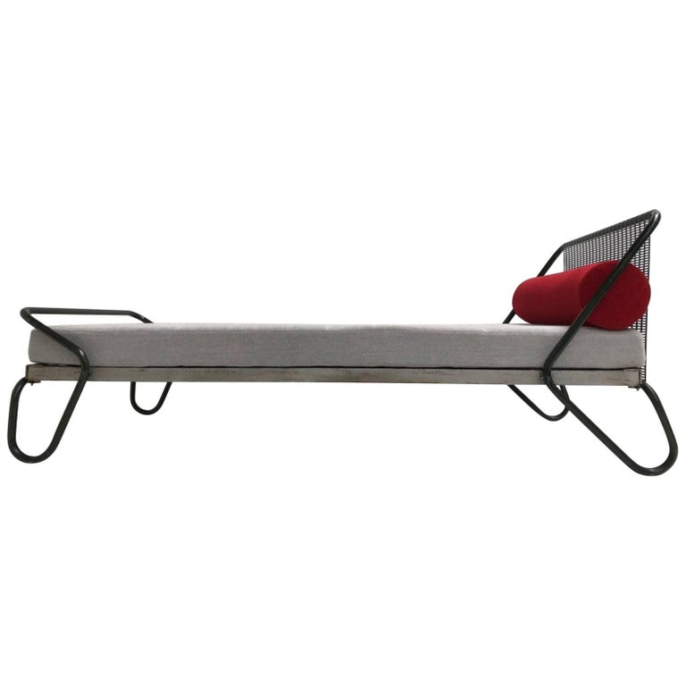 1952 'Miami' Daybed by Jacques Hitier for the Famous 'Antony' Building, Paris For Sale