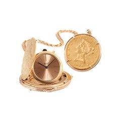 1952 Rare Astonishing Piaget Pocket Watch