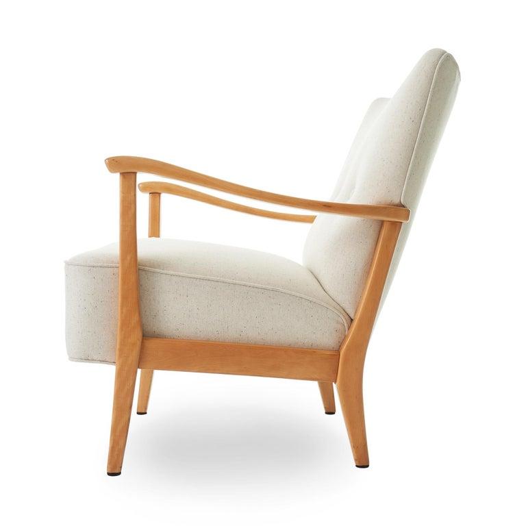 Mid-Century Modern 1953 Folke Ohlsson for AP Madsen 'Modern' Arm Chair  For Sale