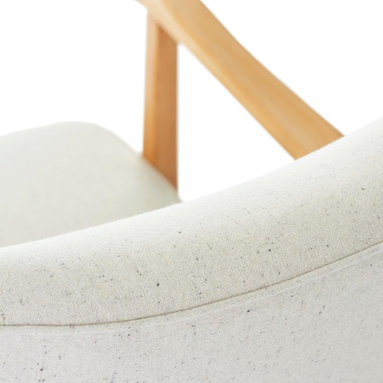 Wool 1953 Folke Ohlsson for AP Madsen 'Modern' Arm Chair  For Sale