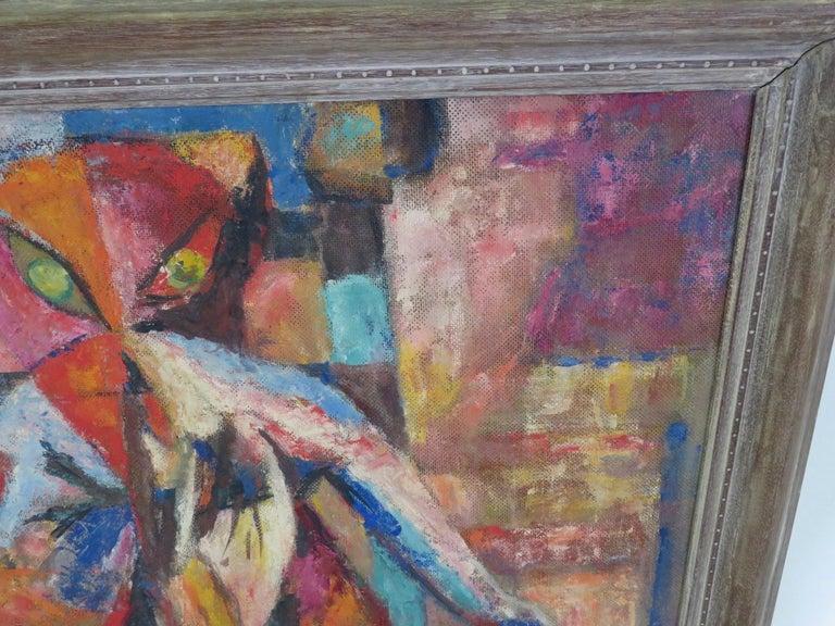 American 1953 Francis Jennings Mid Century Modern Painting