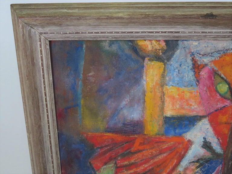 1953 Francis Jennings Mid Century Modern Painting