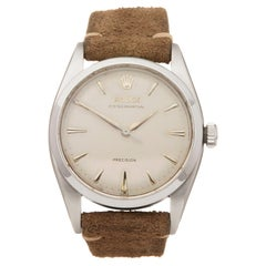 1953 Rolex Oyster Perpetual Stainless Steel 6150 Wristwatch