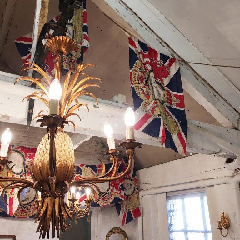 1953 Royal Coronation Flag Bunting 13.5 Metres For Sale 1