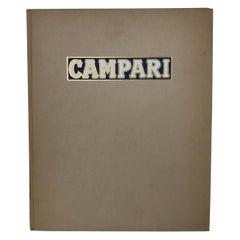 1953s Vintage Advertising Book by Campari Milano Roma