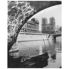 1954, Cathedral Notre, Dame Paris, Jean Ribière