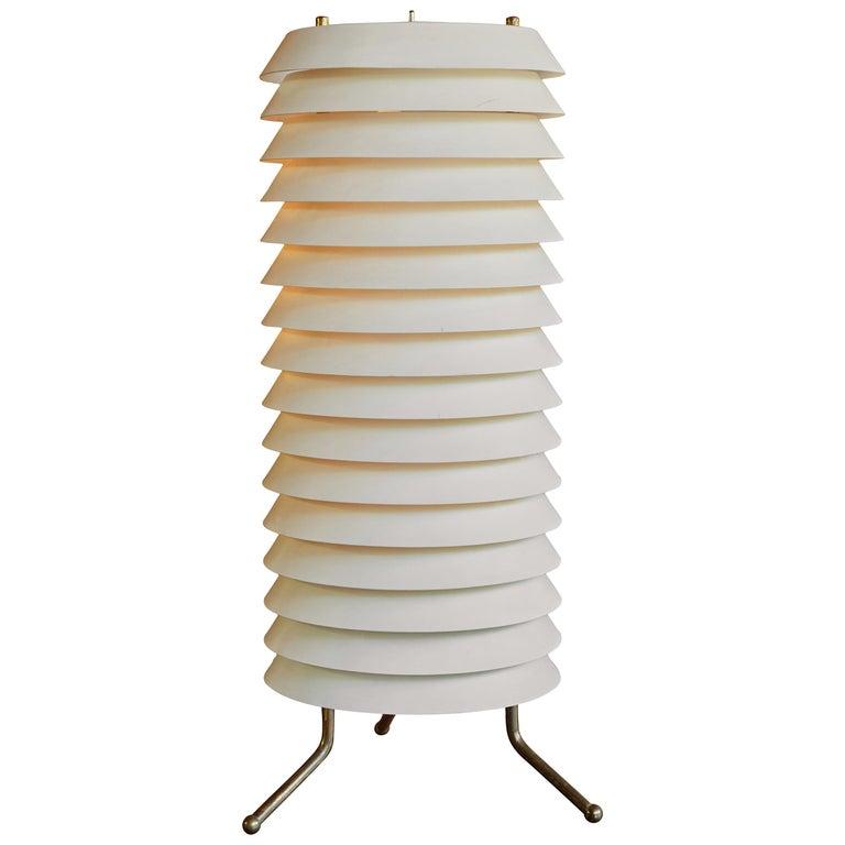Ilmari Tapiovaara Maija for Asko/Hienoterä floor lamp, 1955, offered by Two Enlighten Los Angeles