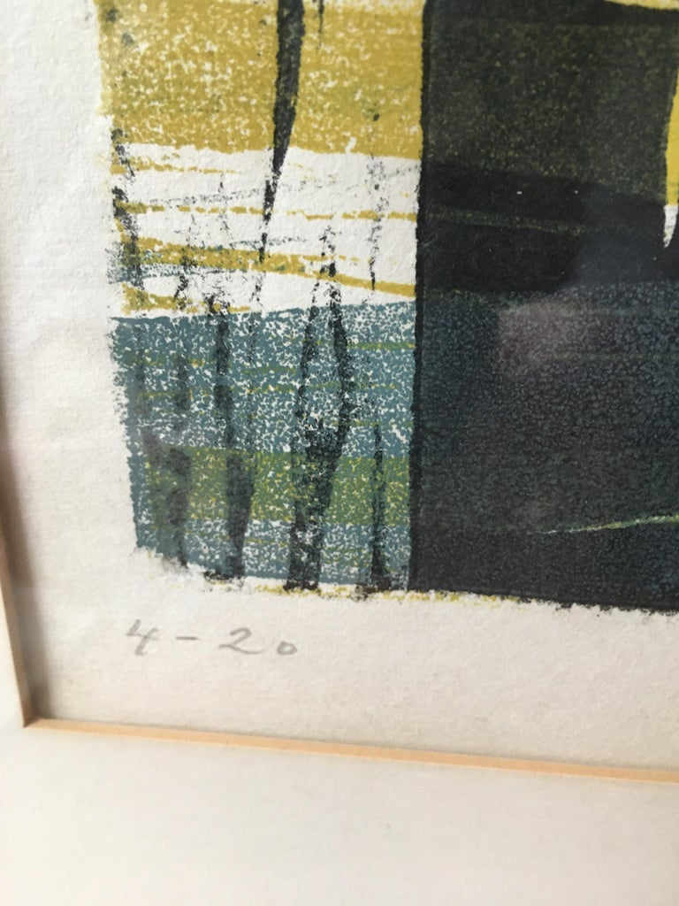 1955 Lithograph by Gabor Peterdi For Sale 1