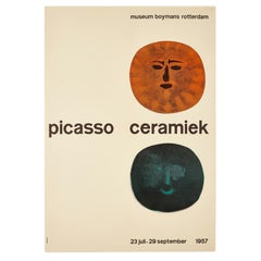 1957 'Picasso Ceramiek', Rotterdam Exhibition Poster
