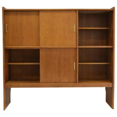 1957, Rare Bookcase by Roger Landault
