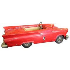1957 Vintage Ford Thunderbird Jr. Powercar Electric Kiddie Car