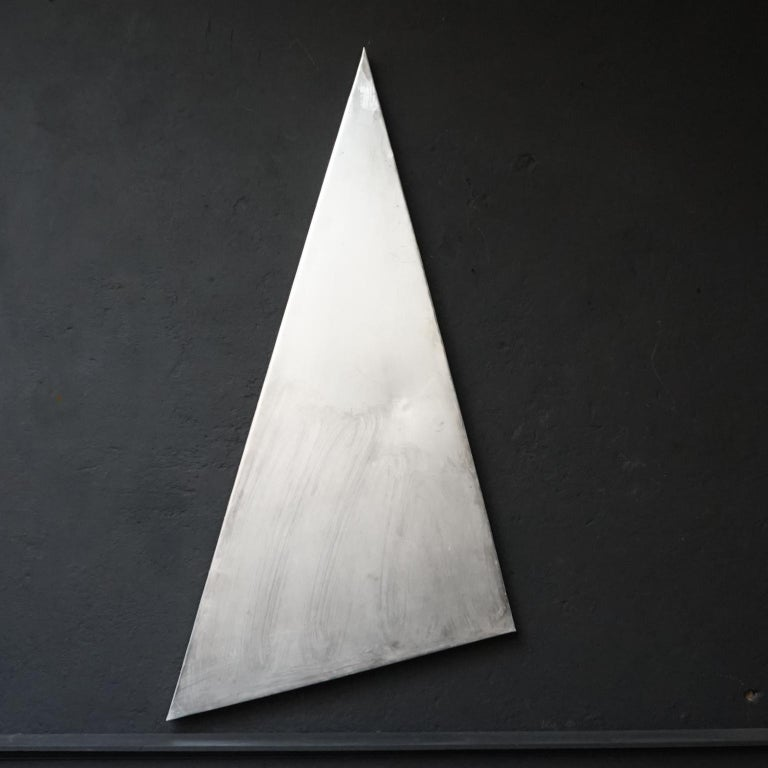 Mid-Century Modern 1958, Belgian Aluminum Triangle Panel of the Brussels Atomium For Sale