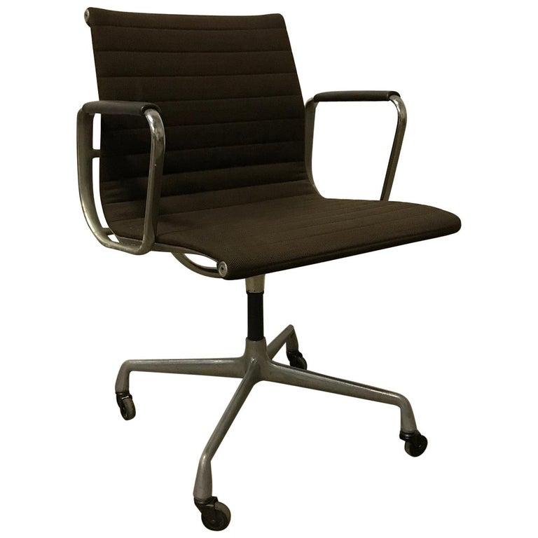 cheap for discount 0a929 85a35 1958, Ray and Charles Eames for Herman Miller EA 108 Office Chair Plus  Armpads