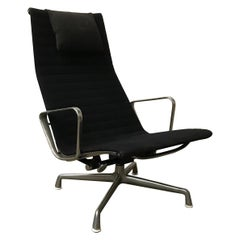 1958, Ray & Charles Eames, for Herman Miller, Early 4-Legs Lounge Chair EA 124