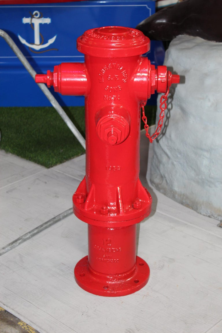 American 1959 M. Greenberg's Sons Fire Hydrant For Sale