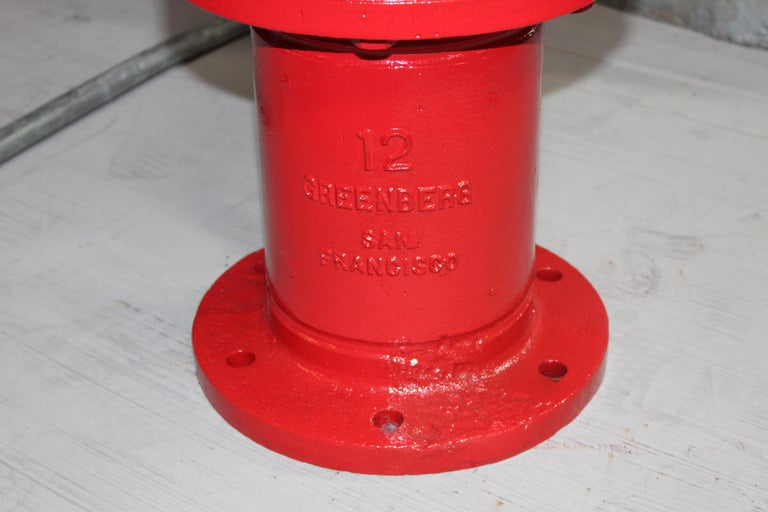 Mid-20th Century 1959 M. Greenberg's Sons Fire Hydrant For Sale
