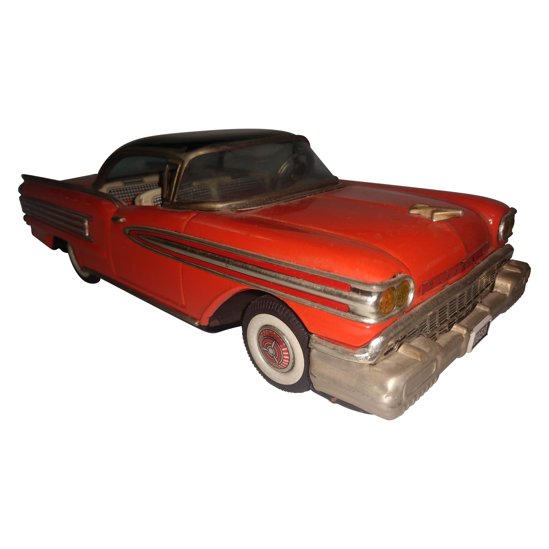 1959 Two Tone Tin Litho Oldsmobile Coupe Japan
