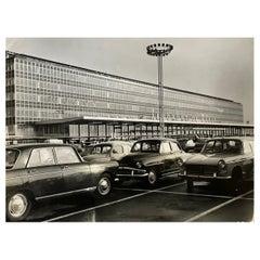 1960, Aéroport Orly, Paris, Jean Ribière