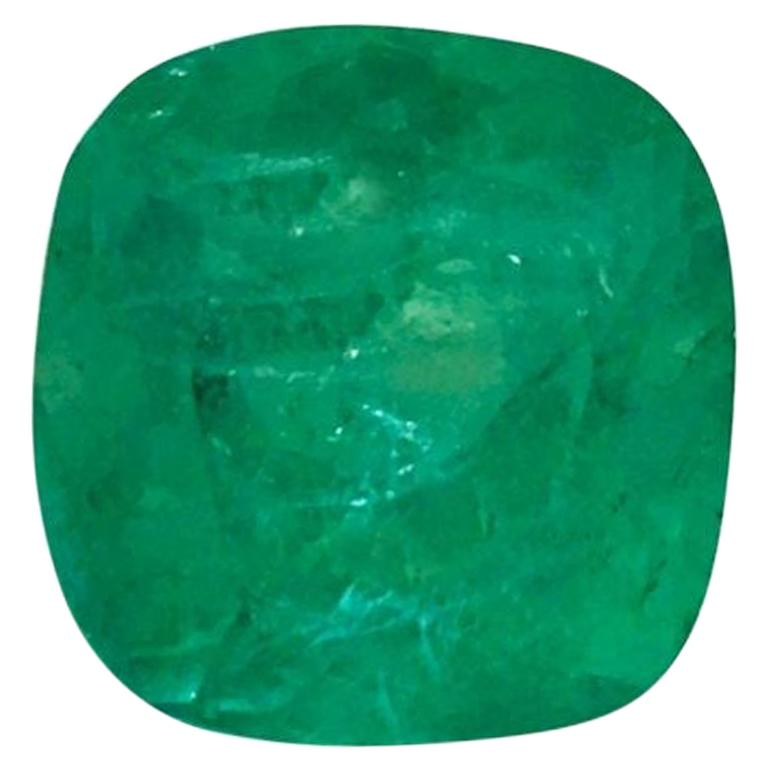 19.60 Carat Natural Loose Emerald Gemstone AAA Colombian Emerald