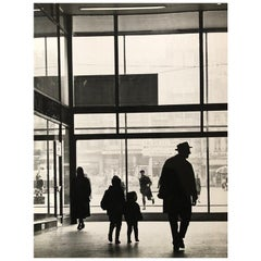 1960, Centre Rogier, Bruxelles, Jean Ribière