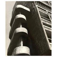 1960, Cité Radieuse, Le Corbusier, Jean Ribière
