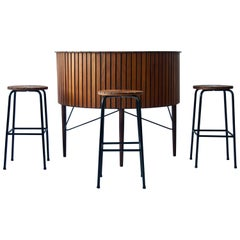 1960 Danish Bar and Stools