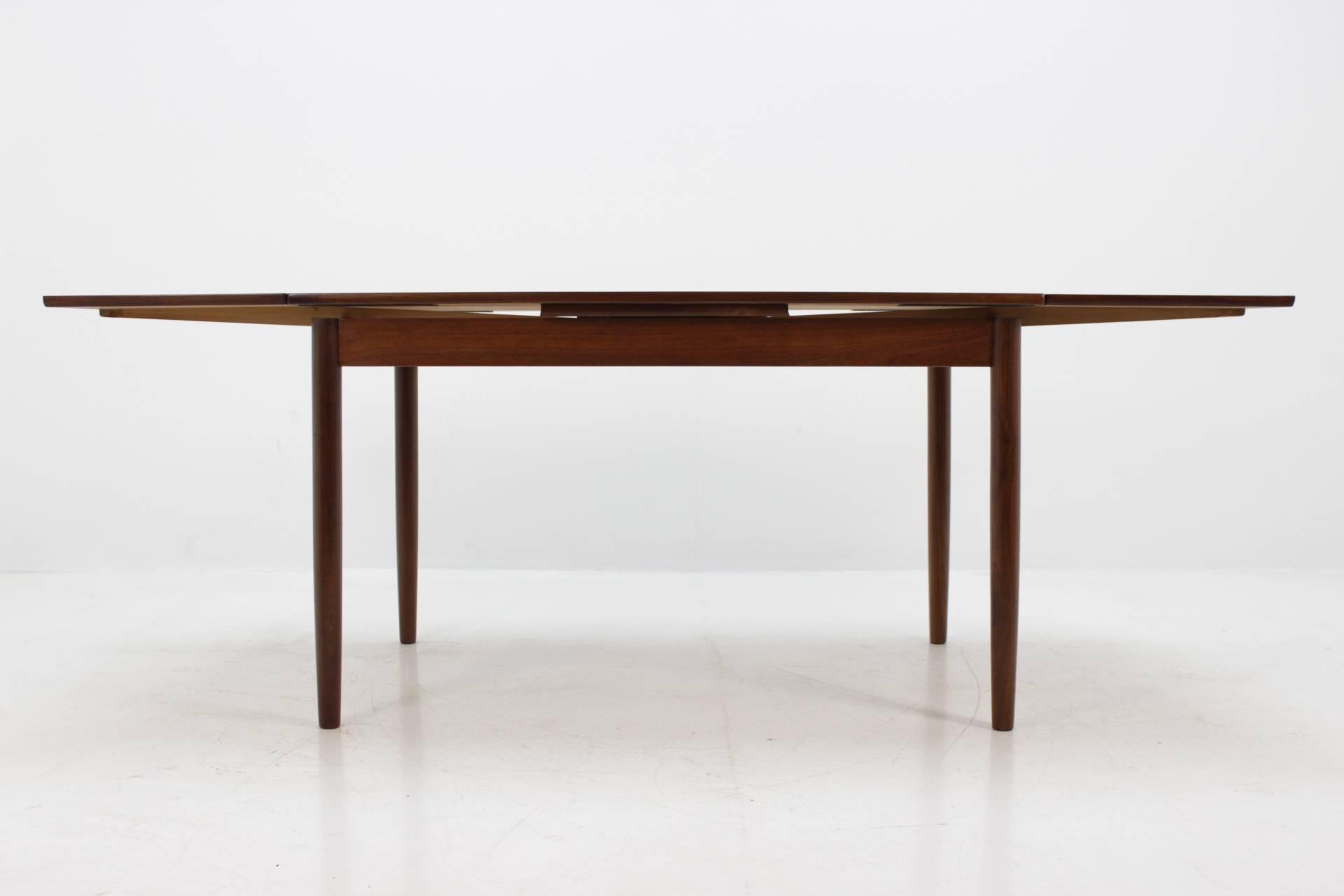 Mid 20th Century 1960 Danish Teak Extendable Table For Sale