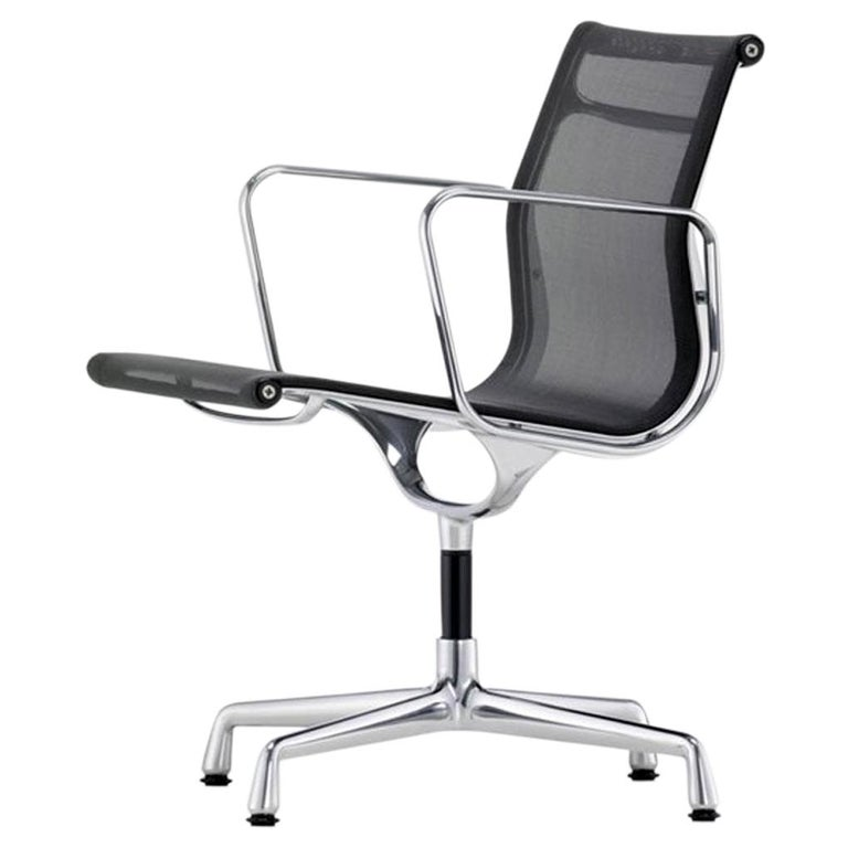 1960 EA 108 Charles Ray Eames Herman Miller ICF Design Swivel Chair For Sale